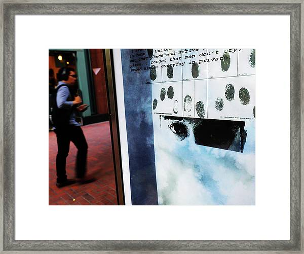 Everyday Is Private Framed Print