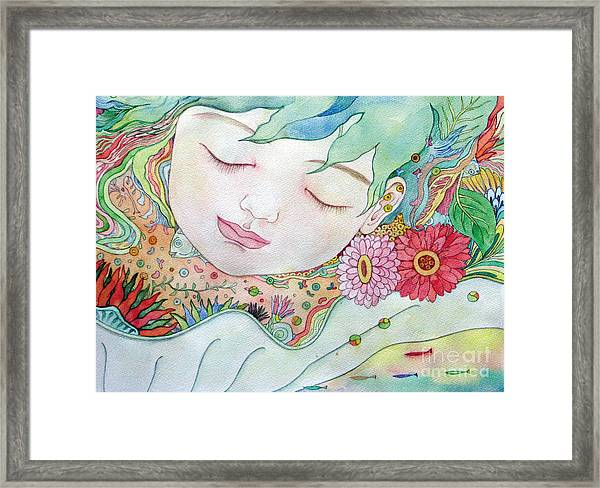 Everything Is A Child Of The Earth Framed Print