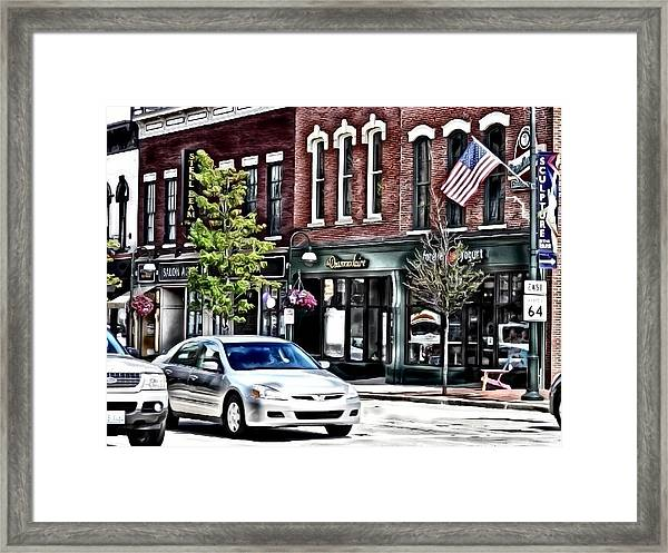 Everything Old Is New Framed Print