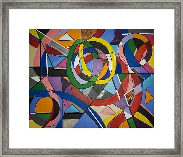 Evolve Love Framed Print