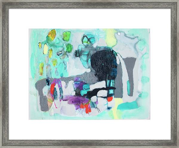 Exactly Like That Framed Print