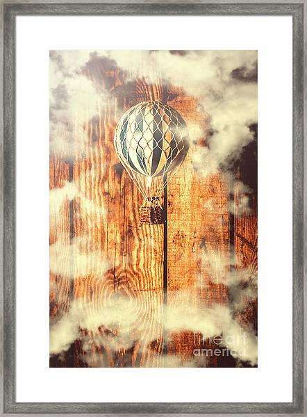 Exhibit In Adventure Framed Print