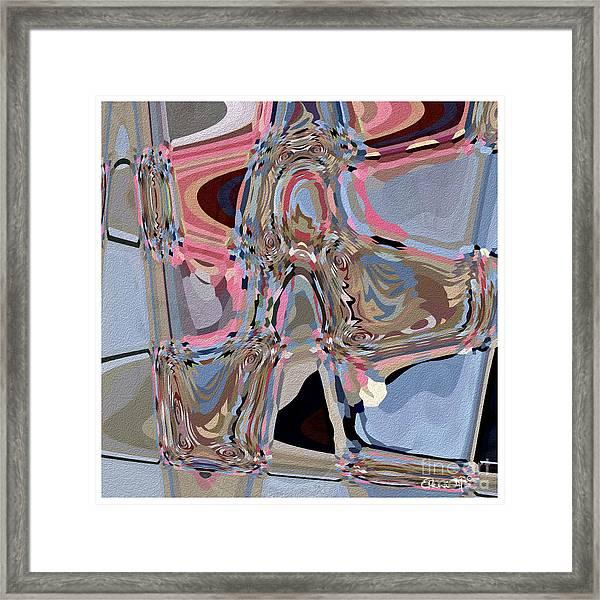 Framed Print featuring the digital art Exit by Eleni Mac Synodinos
