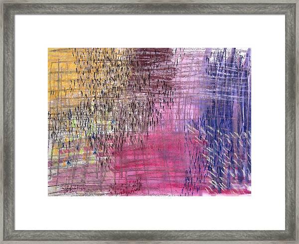 Exodus Framed Print by Saundra Lee York