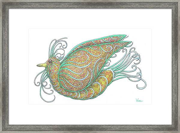 Exotic Bird IIi Framed Print