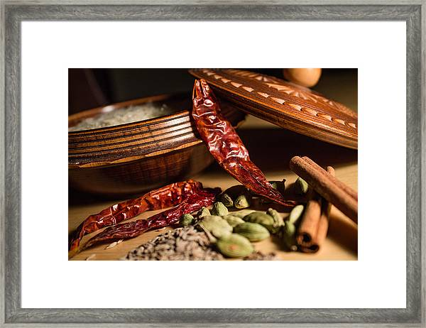 Framed Print featuring the photograph Exotic by Break The Silhouette
