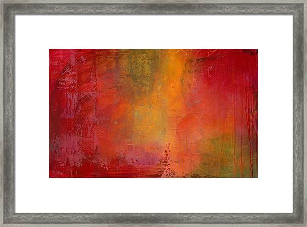 Expanse Framed Print