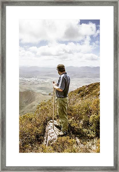 Explore Tasmania Framed Print