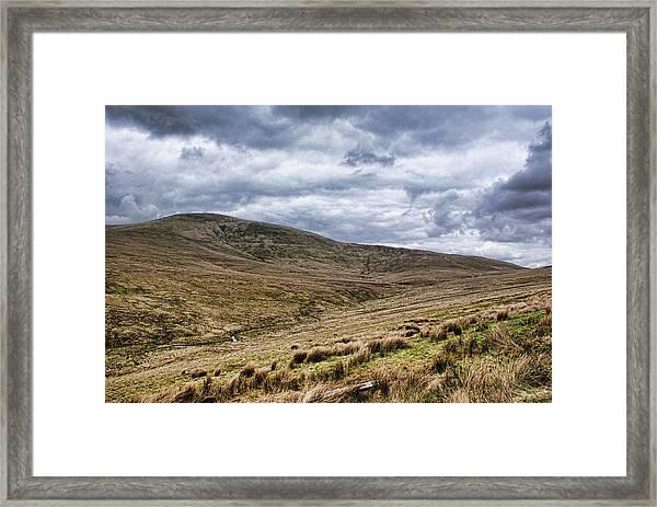 Exploring The Sperrin Mountains Framed Print