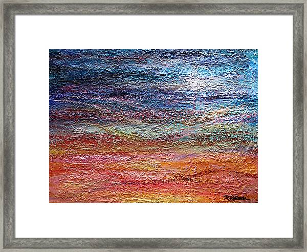 Exploring The Surface Framed Print