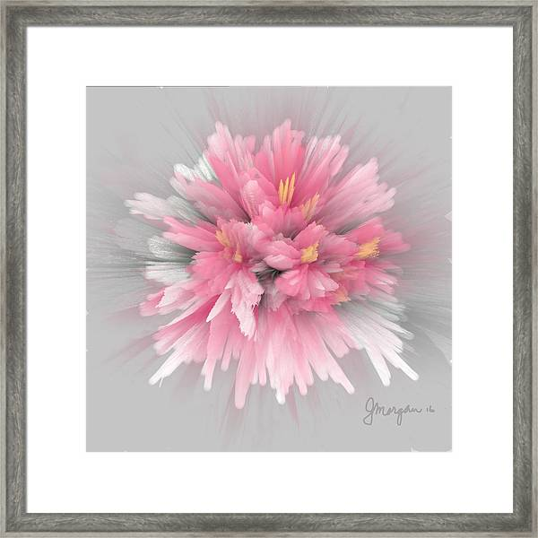 Explosion Framed Print