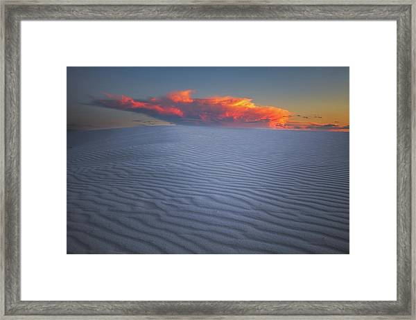 Explosion Of Colors Framed Print