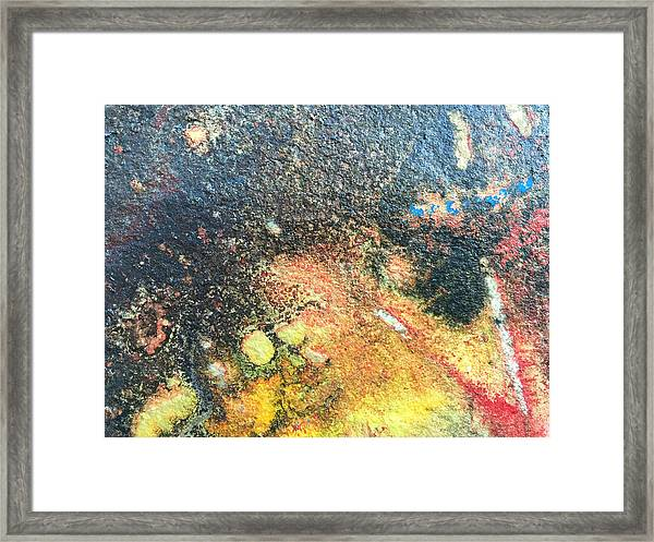 Explosive Sunrise Framed Print