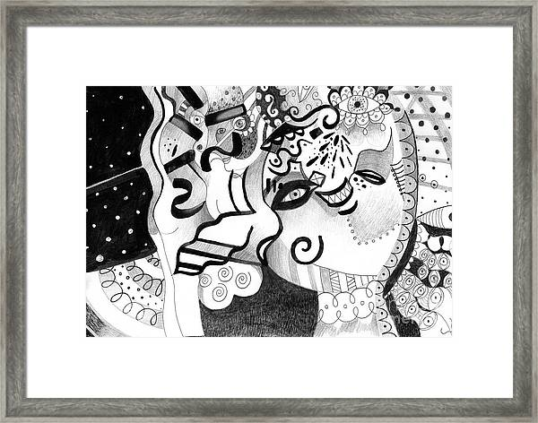 Expressions Framed Print