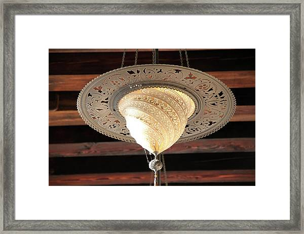 Exquisite Fortuny Lamp Framed Print