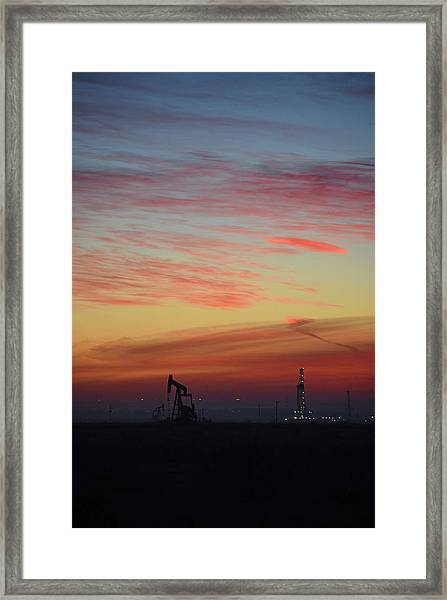 Extraction Framed Print