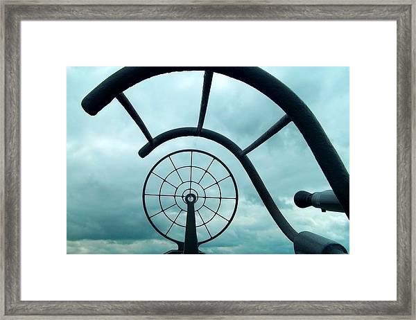 Eye Of History  Framed Print