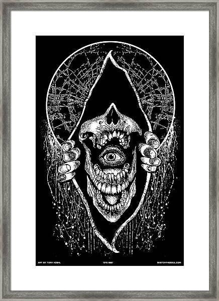 Eye See Framed Print
