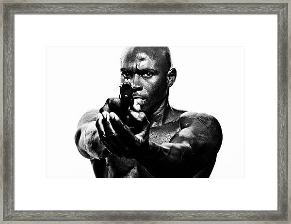 Eye To Eye With Your Killer Framed Print