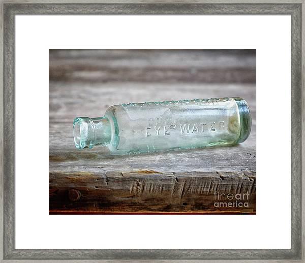 Eye Water Framed Print
