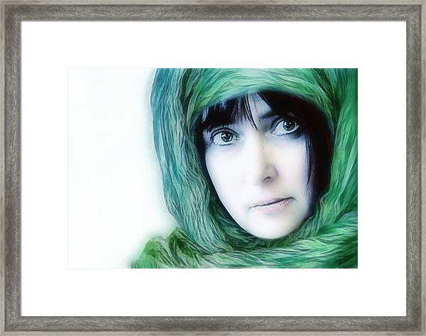 eyes like windows of the soul - II Framed Print