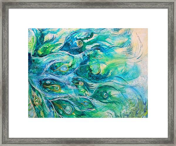Eyes Of Eden Framed Print