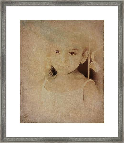 Innocent Eyes Framed Print