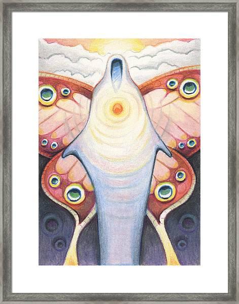 Eyes Of The Soul Framed Print