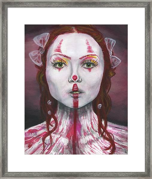 Eyes Open Framed Print