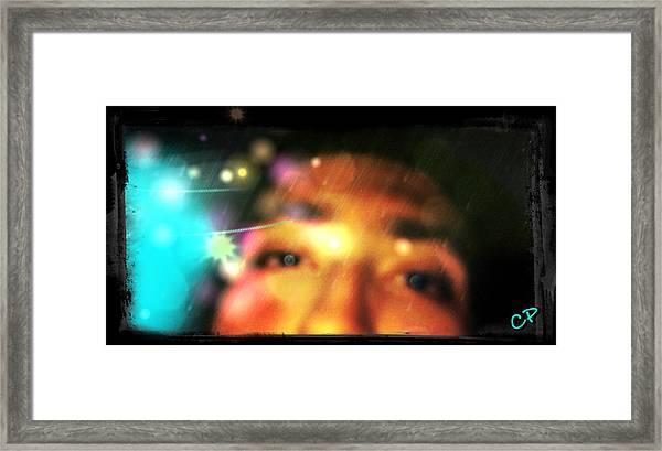 Eyes To The Soul Framed Print