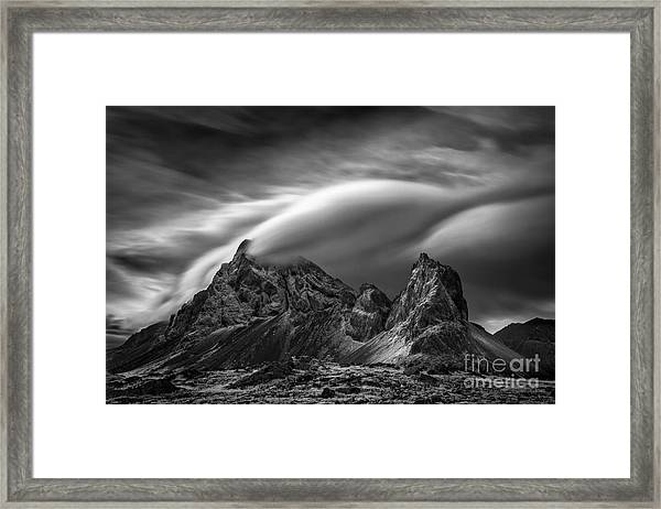 Eystrahorn, Iceland Framed Print