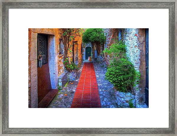 Ez Street Framed Print