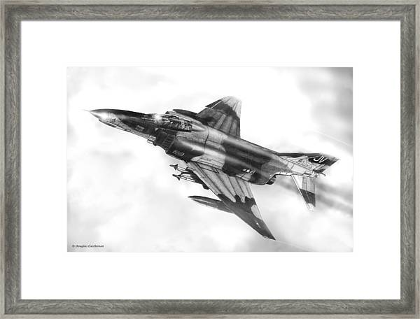 F-4e Phantom II Framed Print