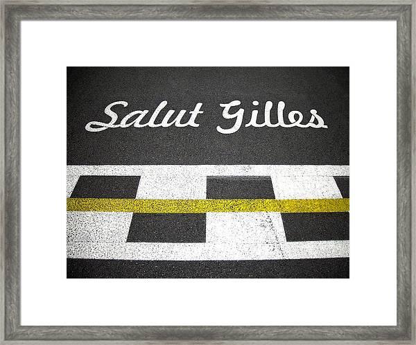 F1 Circuit Gilles Villeneuve - Montreal Framed Print