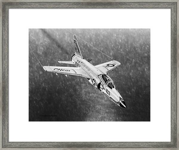 F11f Tiger  Framed Print