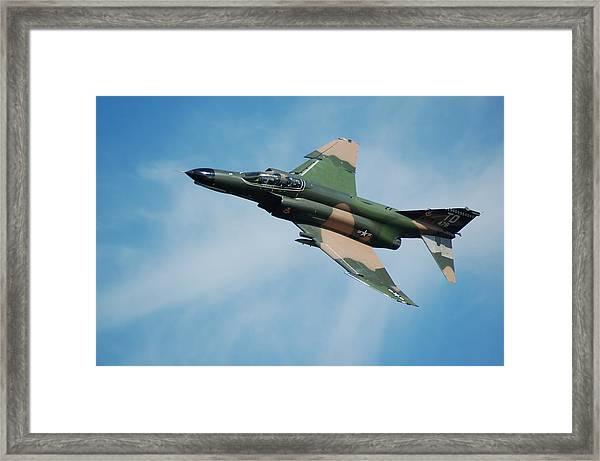 F4 Phantom Framed Print by Mark Weaver