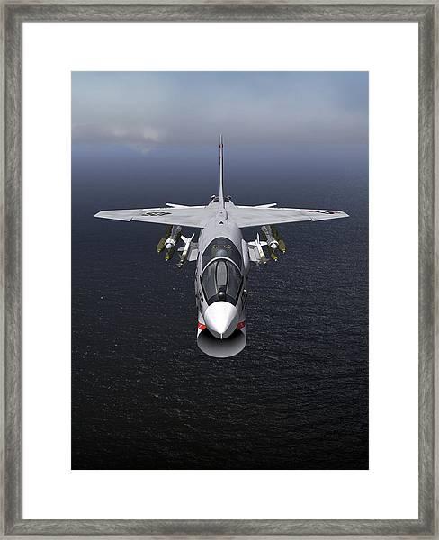 F8 18x24 Headon Framed Print