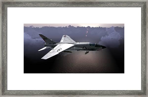 F8 At Kilo Framed Print