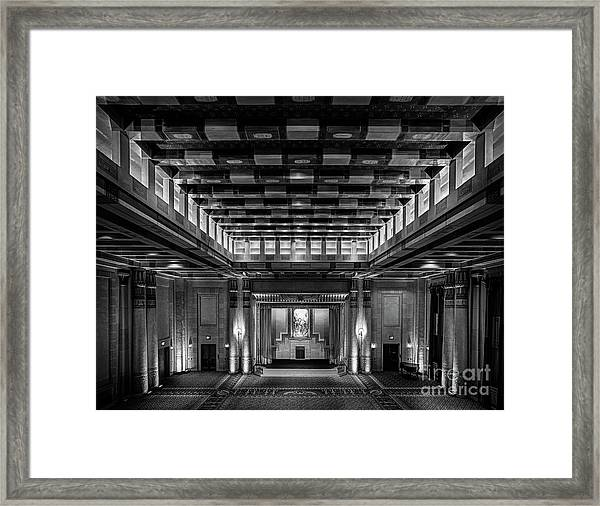Fabulous Fox Theater Atlanta Egyptian Ballroom Framed Print