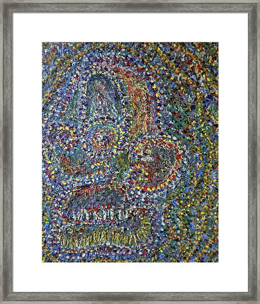 Face-1 Framed Print