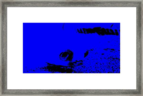 Face From The Deep Framed Print