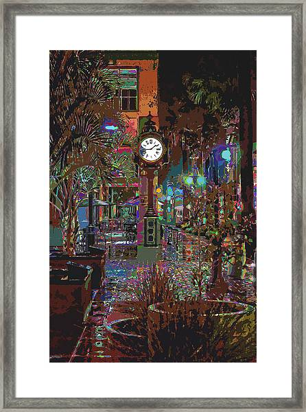 Face Of Color Framed Print