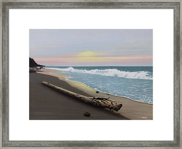 Face To The Morning Framed Print