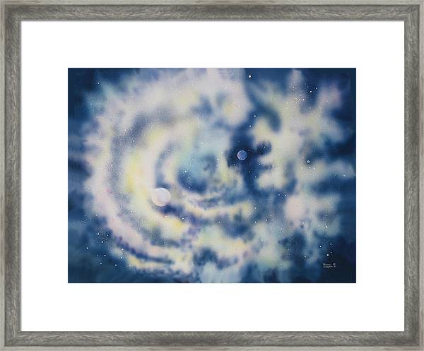 Faces Of Creation Framed Print