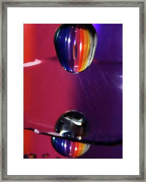 Facing The Dark Framed Print