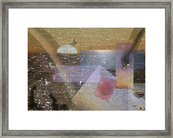 Faded Romance Framed Print