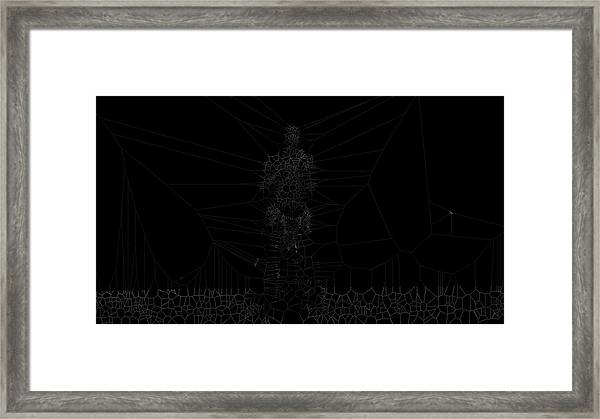 Faint Framed Print