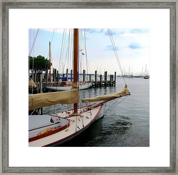 Fair Weather Annapolis  Framed Print