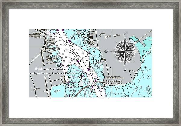 Fairhaven Detail Framed Print