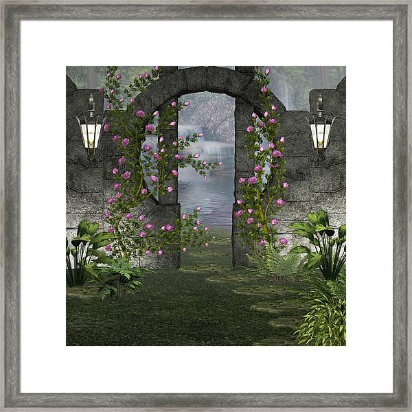 Fairies Door Framed Print